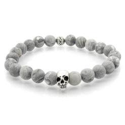 Skull - Gray Mat